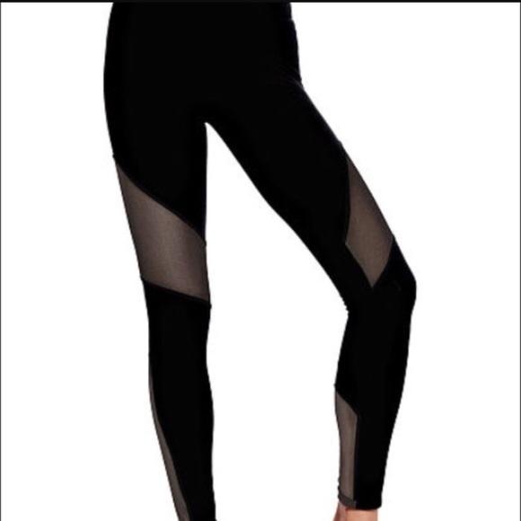 55bfd5997a415 PINK Victoria's Secret Pants | Vs Pink Ultimate Mesh Leggings | Poshmark